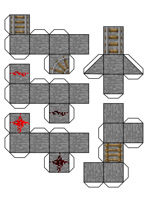 My Block papercraft generator (Work in progress)
